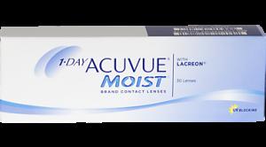 Acuvue 1 day Moist 30 Pk