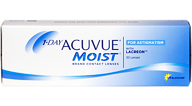Acuvue 1 day Moist Astig 30 pk