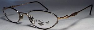Belladonna 040 frames in silver and gold.