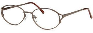 Capri 7704 Frames in Coffee Color