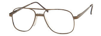 Capri PT 55 Frames in Coffee Color