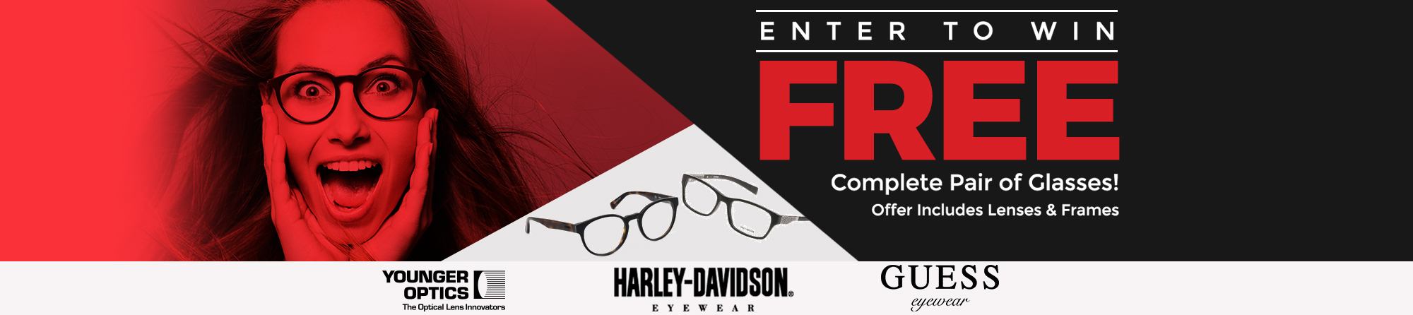Enter to win free glasses
