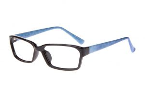 Envy Jackie Frames in Black and Blue Colors