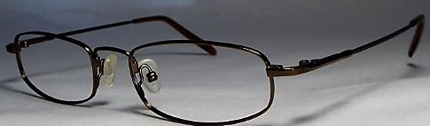 Flex Max 3001 frames in brown.
