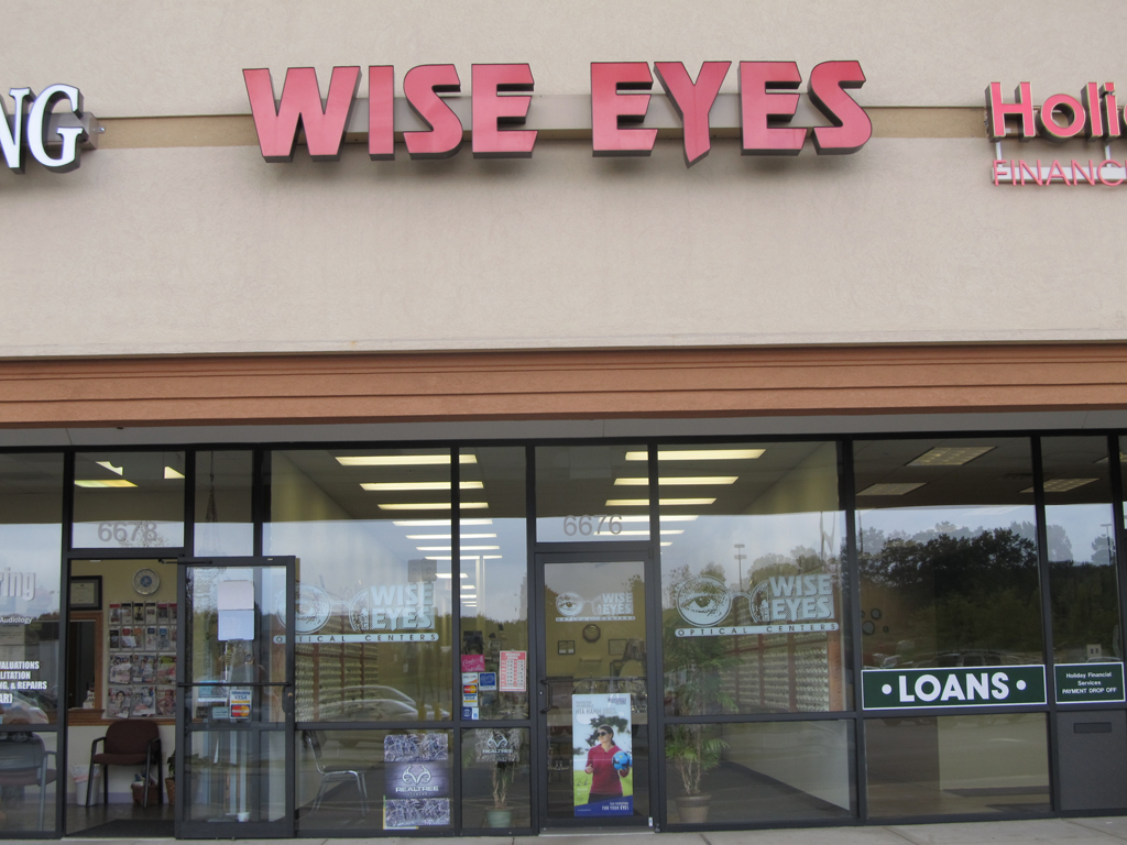 Huntingdon Wise Eyes Exterior
