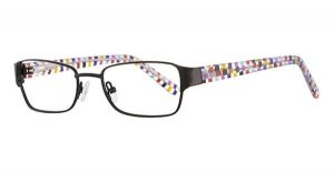 K12 4103 Frames in Black Confetti Color