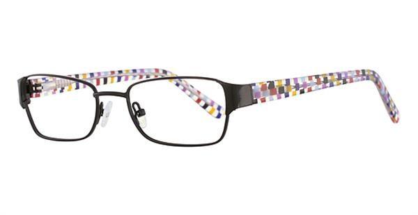 K12 4103 Frames in Black Confetti Color
